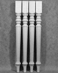 Lange Tischbeine Holz zu Küchenbars