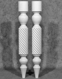 Tischbeine Holz mit außergewöhnlichem Design